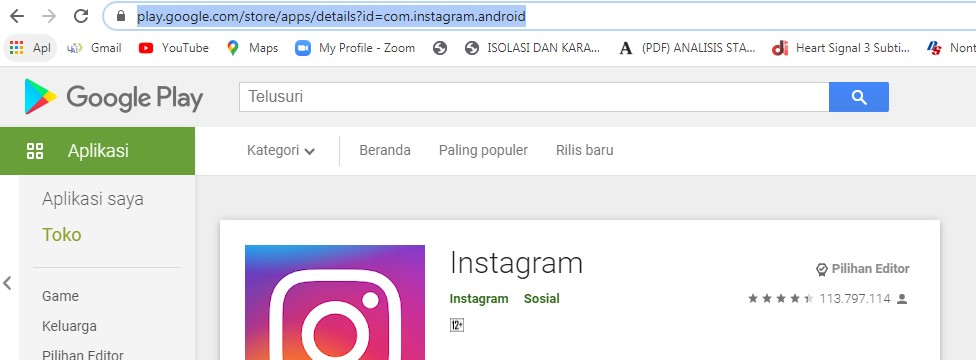Cara Mendownload APK di Laptop 2